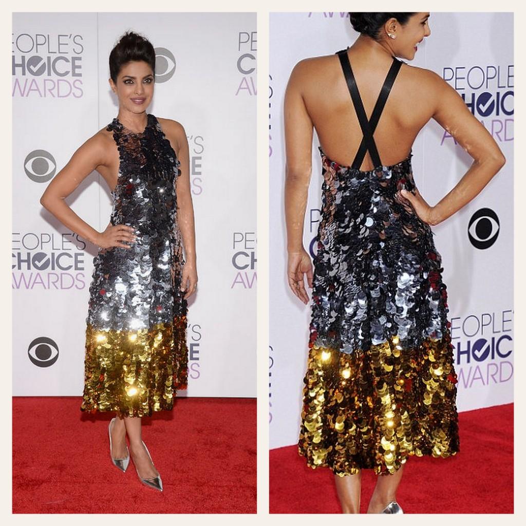 Gold & Silver dress