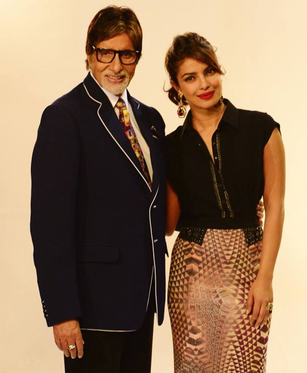 Priyanka Chopra, Amitabh Bachchan- The new faces of 'Incredible India'