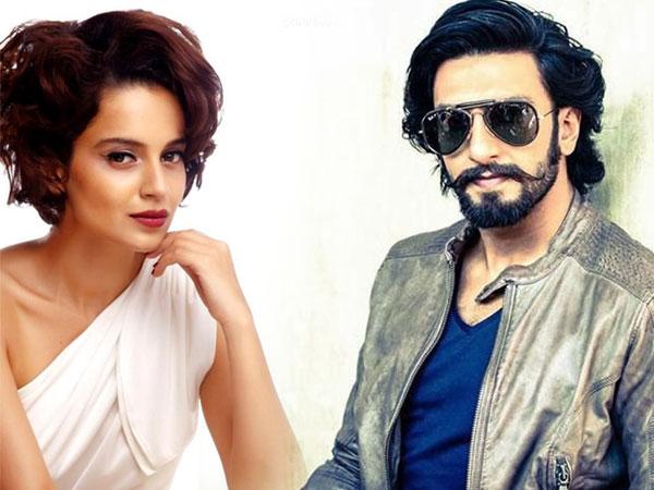 Ranveer Singh and Kangana Ranaut