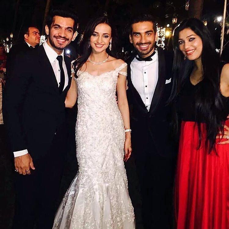 sanaya mohit wedding pics