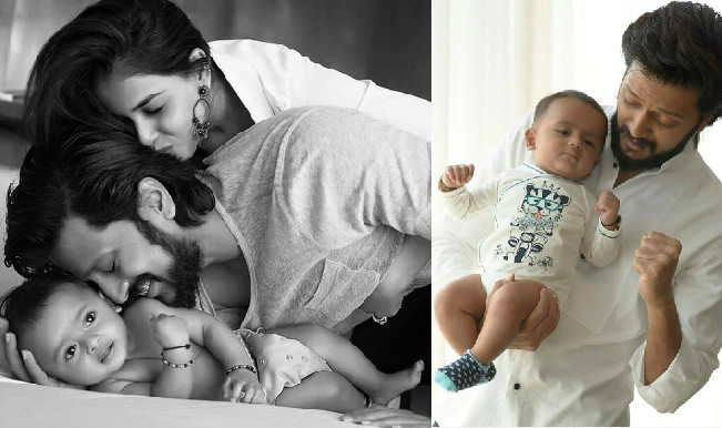 So Sweet! Riteish Deshmukh's Son Riaan Called Him Baba For The First Time!