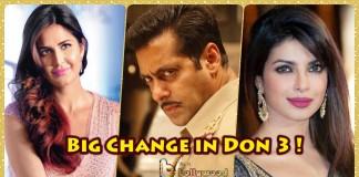 Salman Khan influenced Don 3 Starcast as Katrina Kaif replaces Priyanka Chopra