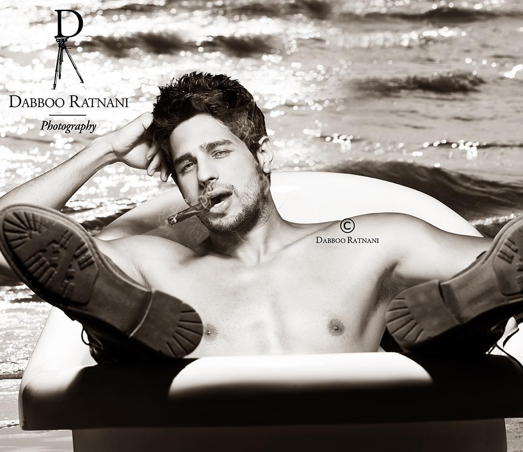 10 best pictures from Dabboo Ratnani's 2016 Calendar: Sidharth Malhotra