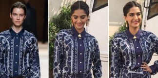Sonam Kapoor Hermes House of CB Suhani Pittie Neerja Promotions
