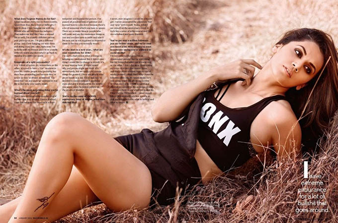 Maxim India January 2016 Edition: Taapsee Pannu heats up the magazine cover during recent photoshoot 2