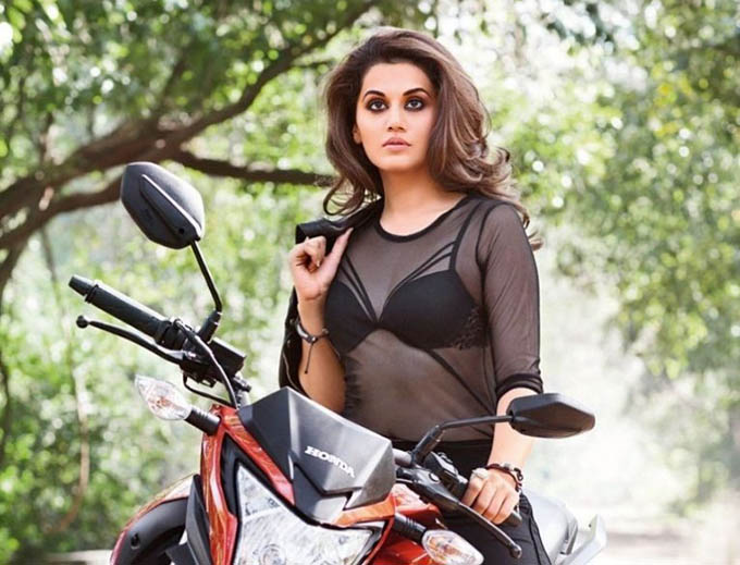 Maxim India January 2016 Edition: Taapsee Pannu heats up the magazine cover during recent photoshoot