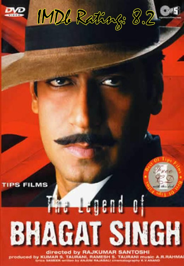 10 Best Movies Of Ajay Devgn - The Legend Of Bhagat Singh