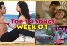 Top 10 Songs of the Week - Bollywood Week 01 [4th Jan 2016]