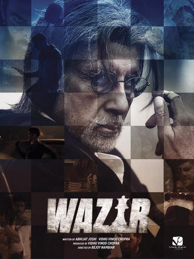 Amitabh unveils Wazir: Talks about Farhan, the story and Nawaz