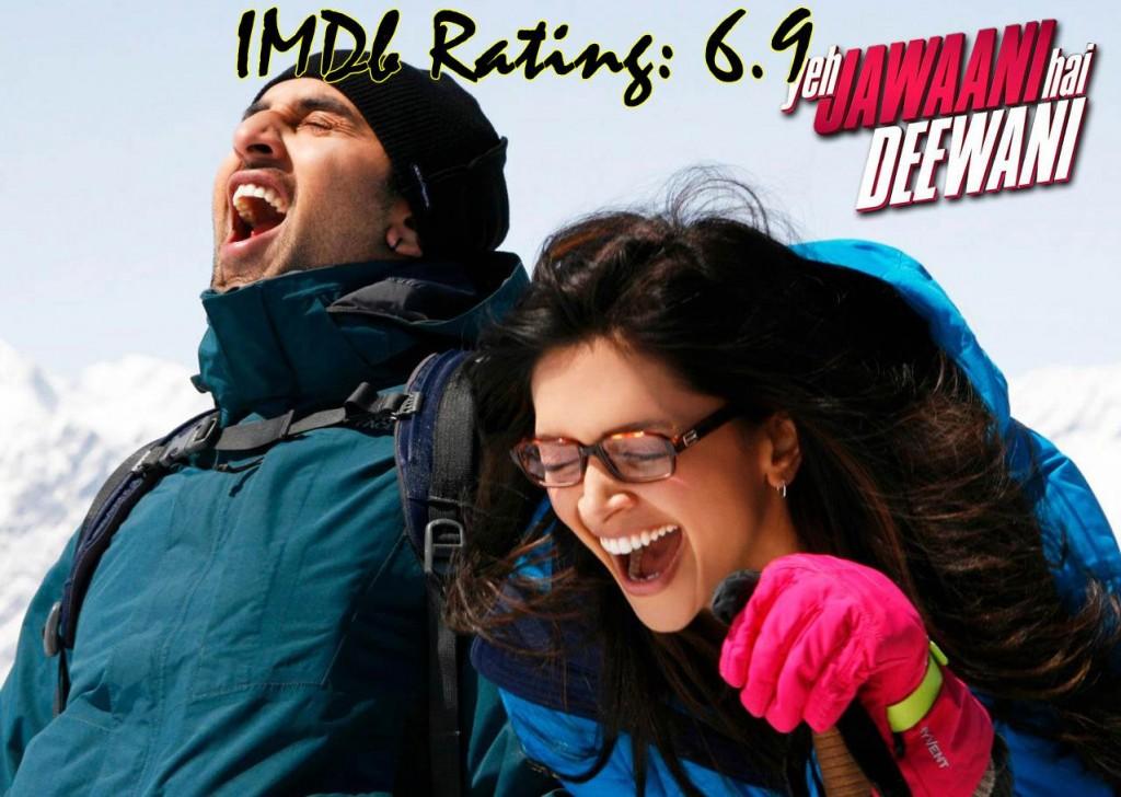 Top 10 Movies Of Deepika Padukone - Yeh Jawaani Hai Deewani