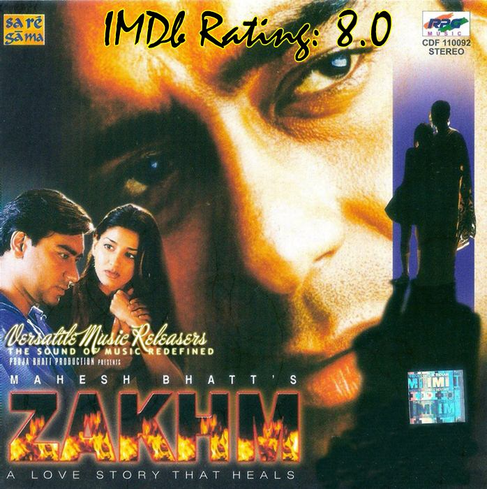 Top 10 IMDb Rated Movies of Ajay Devgn-Zakhm