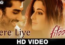Watch Aditya Roy Kapoor and Katrina Kaif fall in love with 'Tere Liye'!