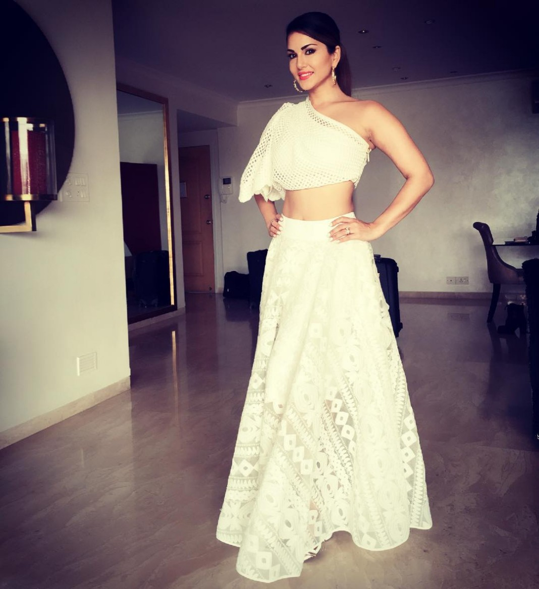 Sunny Leone's Fashion Diaries from Mastizaade Promotions