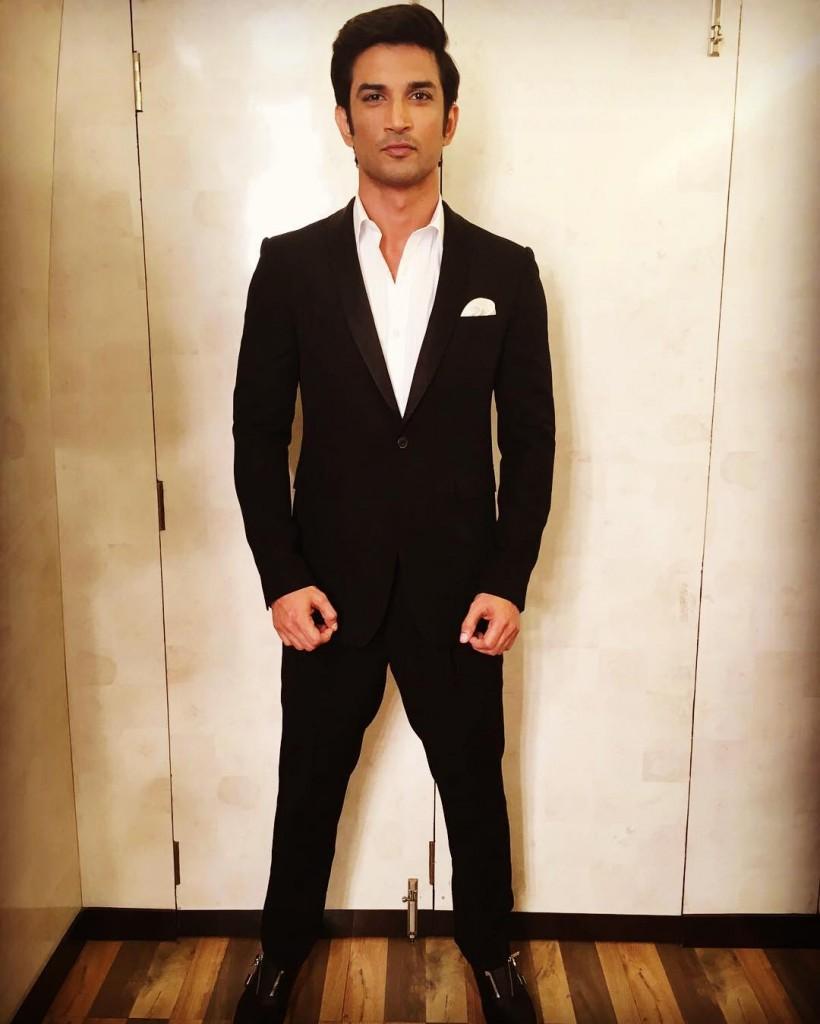 Sushant Singh Rajput at the Zee Cine Awards