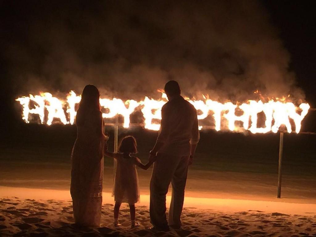 Abhishek Bachchan: Bachchan Family In Maldives