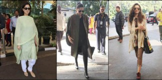 Airport Spotting Bollywood Actresses | Get that Chic Look like our favourite Bollywood Actress
