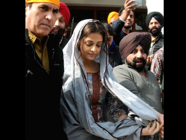 Aishwarya Rai Bachchan for the shooting of Sarbjit