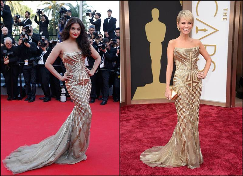 Bollywood Vs Hollywood- Who pulled off these dresses better?- Aishwarya or Kristin