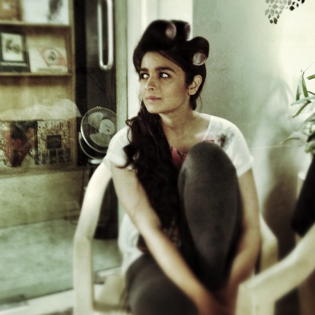 Alia On Set Click