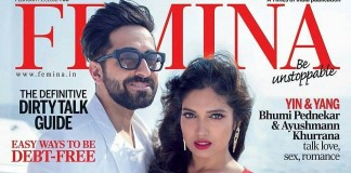 Ayushmann Khurrana & Bhumi Pednekar look smoking hot on Femina Cover