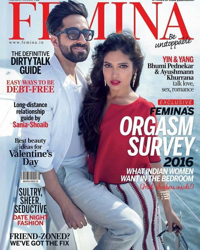 Ayushmann Khurrana & Bhumi Pednekar look smoking hot on Femina Cover