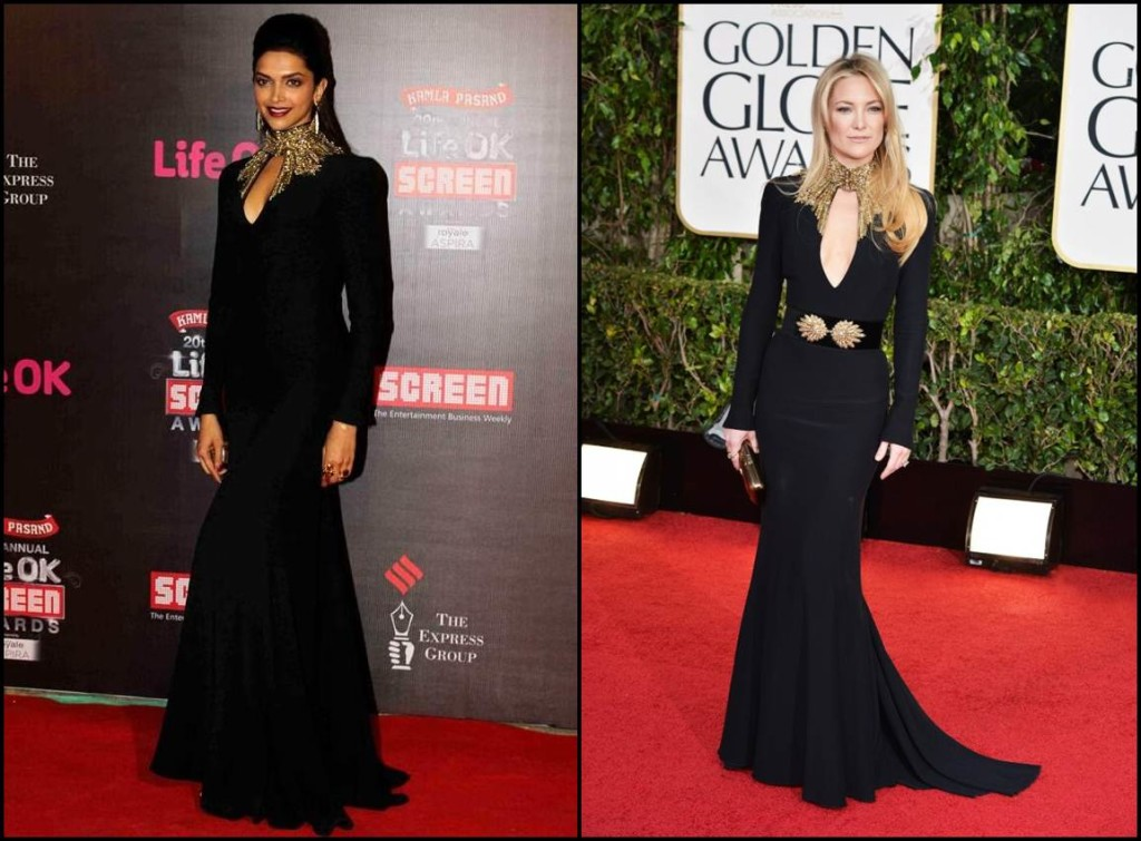 Bollywood Vs Hollywood- Who pulled off these dresses better?- Deepika- Kate