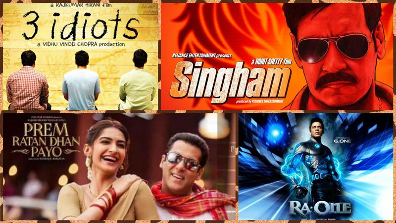 10 Highest TRP Rated Movies of Bollywood | Most Watched Films on TV