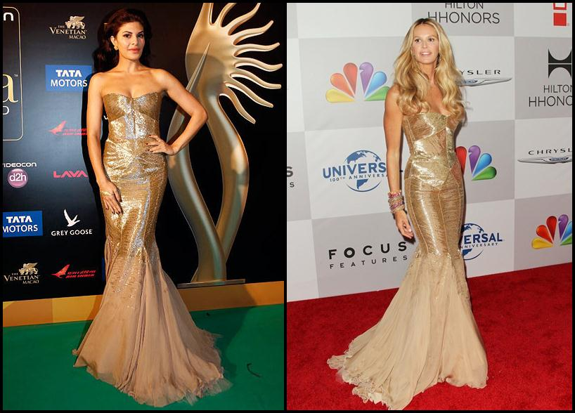 Bollywood Vs Hollywood- Who pulled off these dresses better?- Jacqueline-Elle