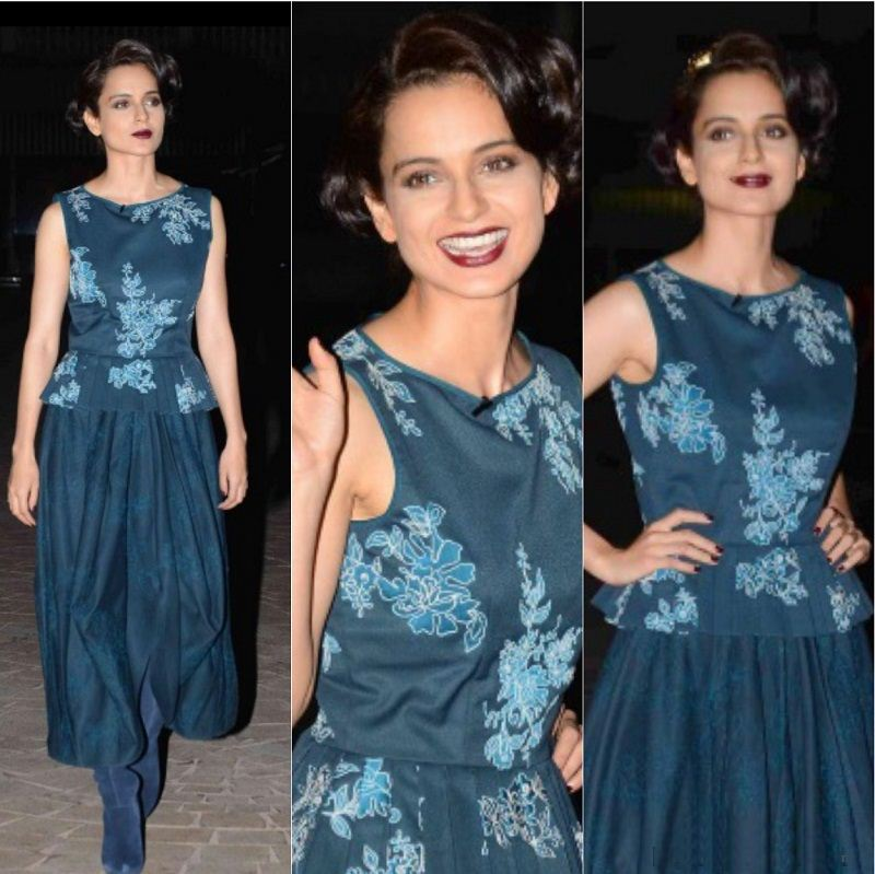 5 Fashion Fails of Kangana Ranaut that made us go WTF!- Kangana 4