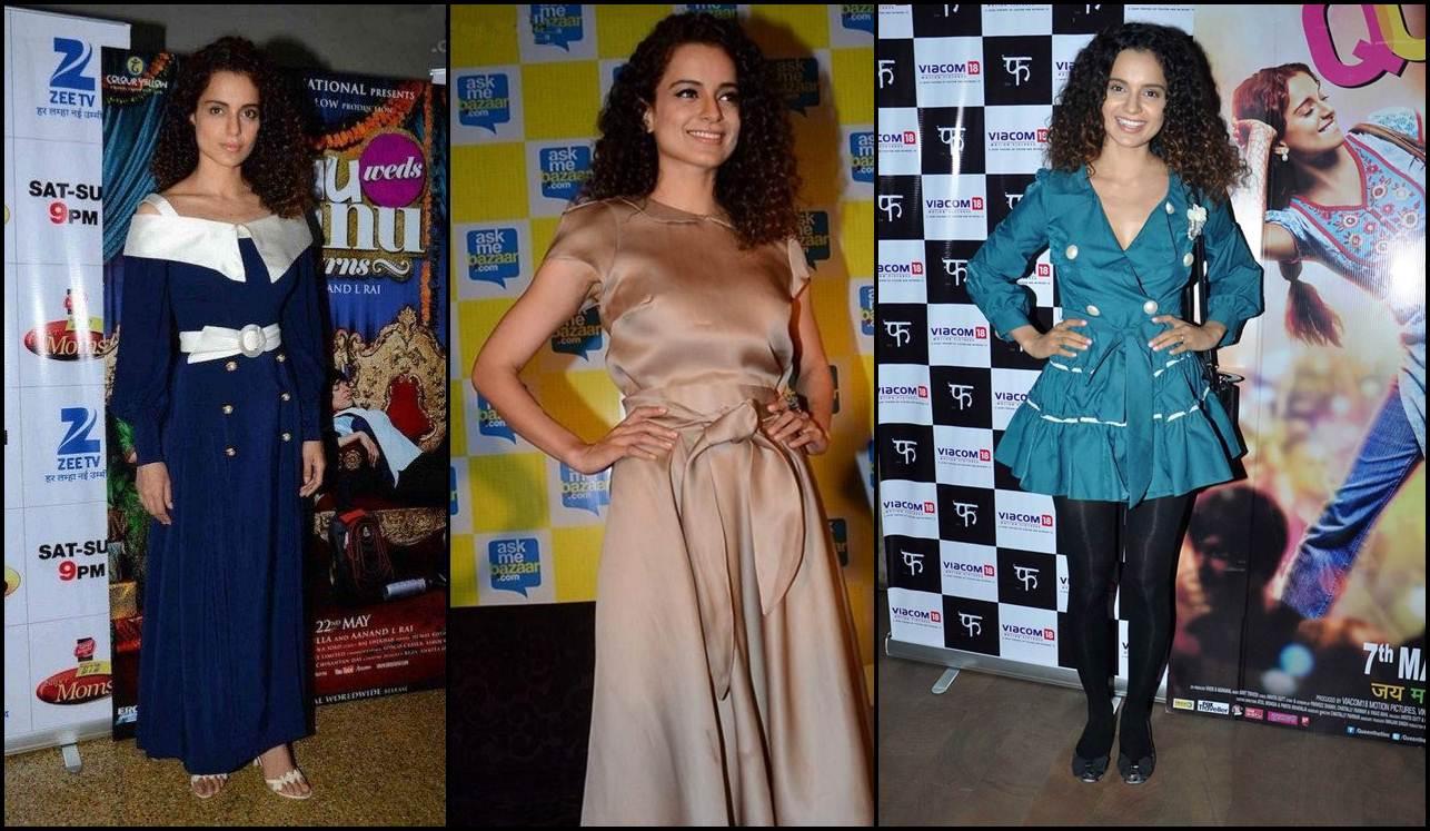 5 Fashion Fails of Kangana Ranaut that made us go WTF!