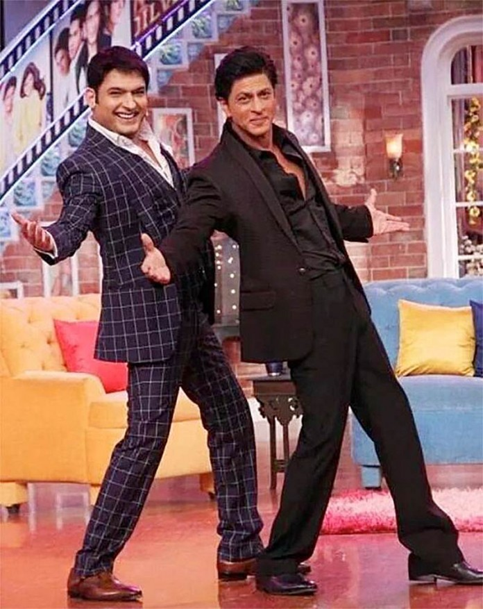 Shah Rukh Khan to be the guest in the first episode of Kapil Sharma's new show!- Kapil-SRK