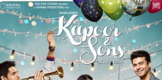 'Kapoor and Sons' First Poster: Alia, Sidharth and Fawad in a Party Mood!