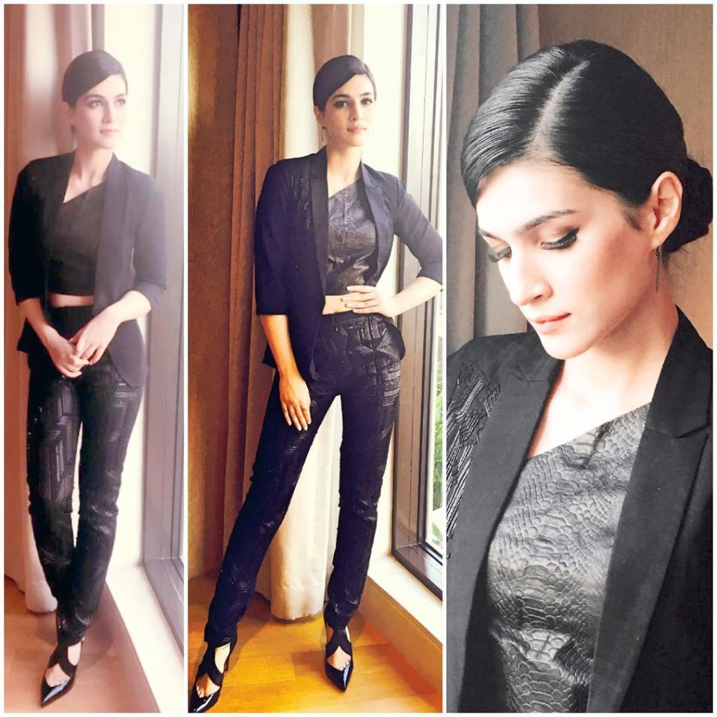 Kriti Sanon makes it work in a Sizzling Pant Suit for Zee Cine Awards Press Meet- Kriti 3