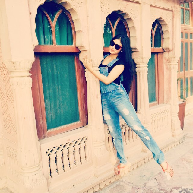 Mouni Roy at Gajner Palace