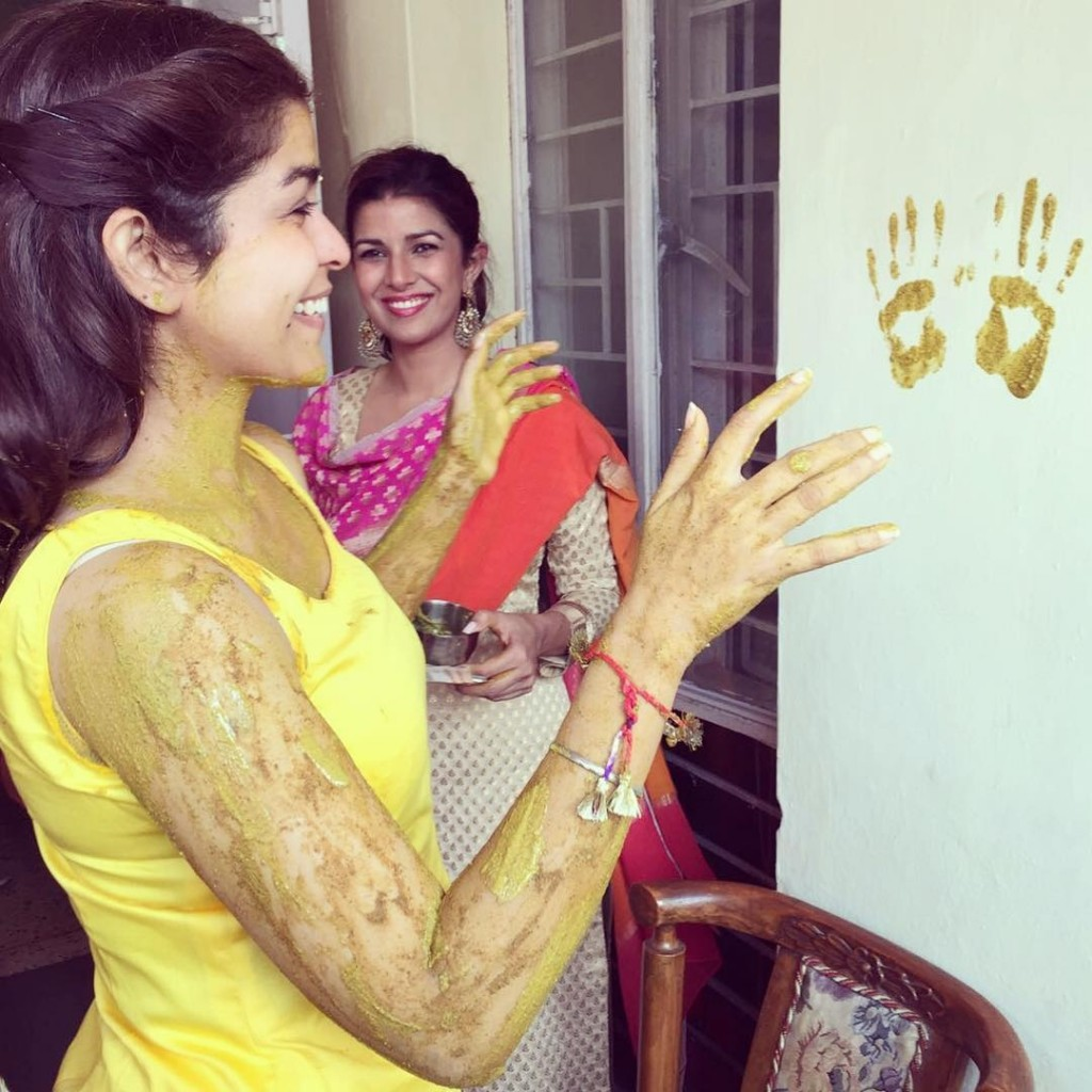 Nimrat Kaur shares some beautiful pictures of her sister's wedding ceremony- Nimrat 5