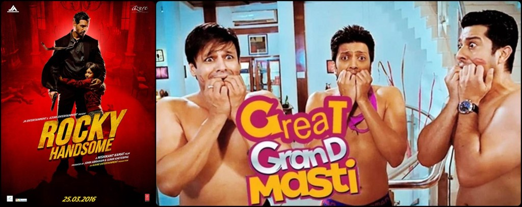 10 Biggest Clashes of 2016 | It's going to be an interesting year!- Rocky Handsome-Great Grand Masti