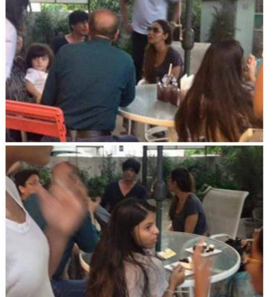 Shah Rukh Khan arrives in Gujarat for Raees, accompanied by son AbRam- On a lunch date