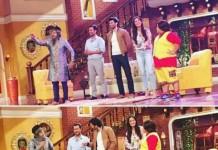 Woah! Salman Khan surprises Katrina Kaif on the sets of Comedy Nights Live