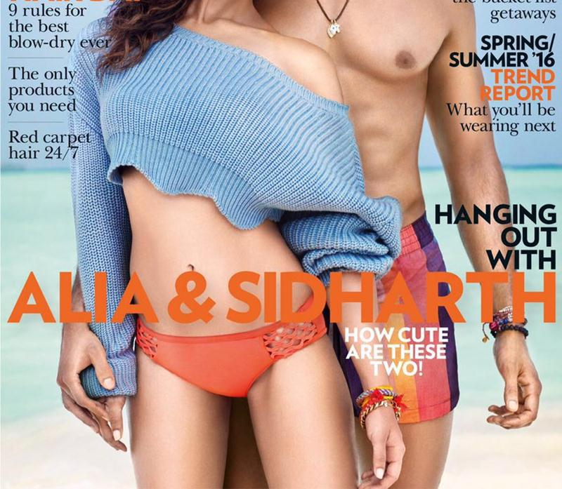 Sidharth Malhotra and Alia Bhatt on Vogue Cover look smoking hot together!
