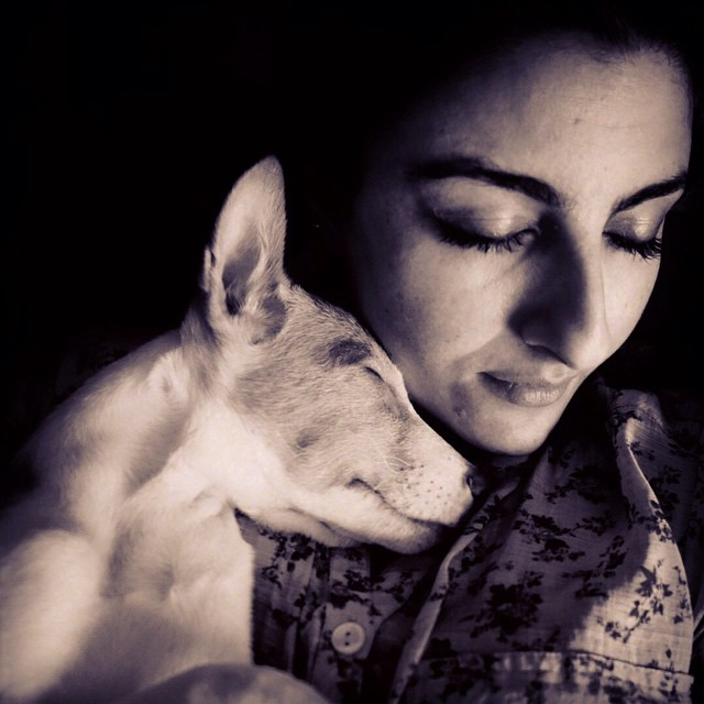 These Celeb Pet Selfies are so cute they will melt your heart right out!- Soha 1
