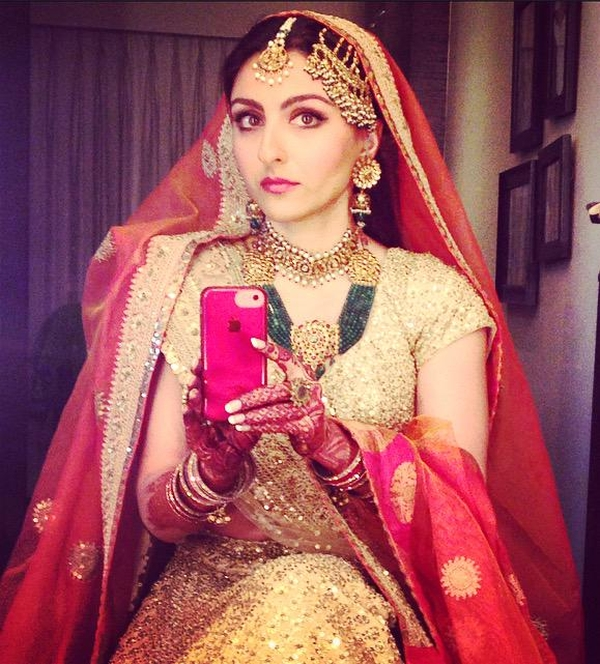 Soha Ali Wedding Pic