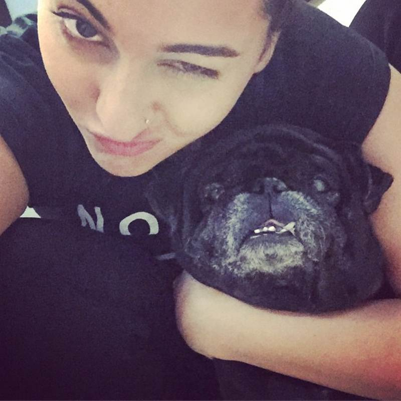 These Celeb Pet Selfies are so cute they will melt your heart right out!- Sonakshi 1