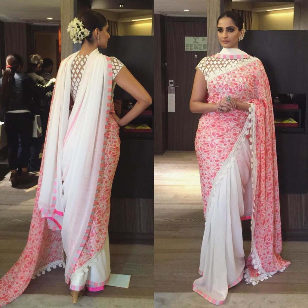 Sonam Kapoor Fashion Files during Neerja Promotions - Sonam 1