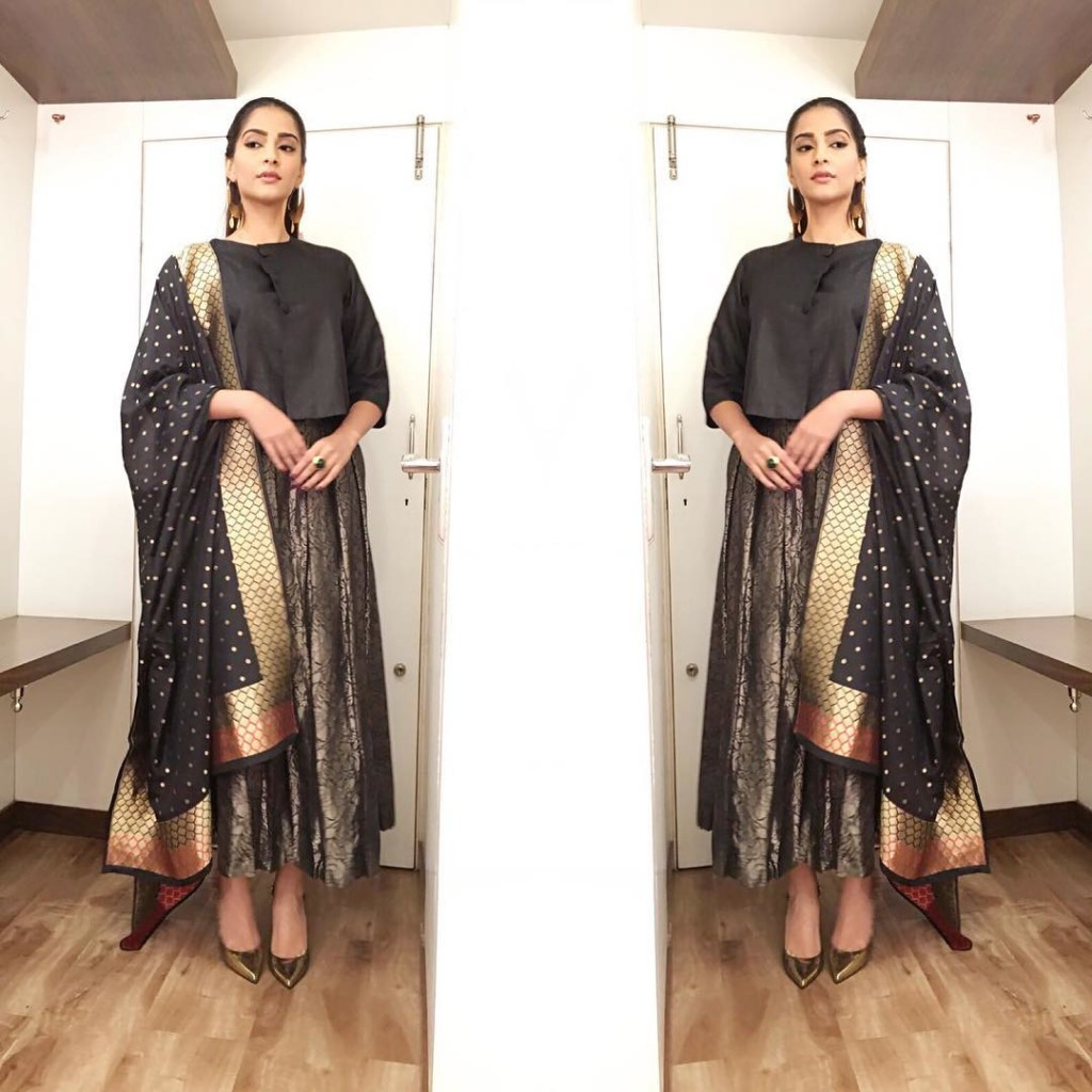 Sonam Kapoor Fashion Files during Neerja Promotions- Sonam 11