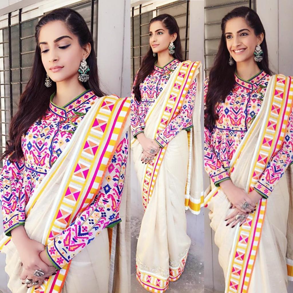 Sonam Kapoor Fashion Files during Neerja Promotions- Sonam 12
