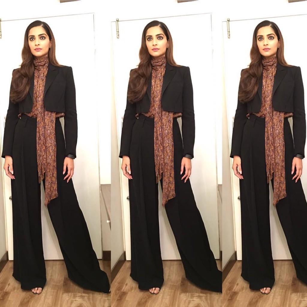 Sonam Kapoor Fashion Files during Neerja Promotions- Sonam 3