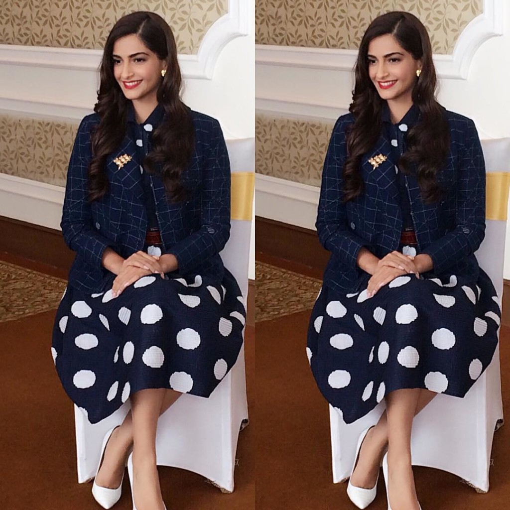 Sonam Kapoor Fashion Files during Neerja Promotions - Sonam 4
