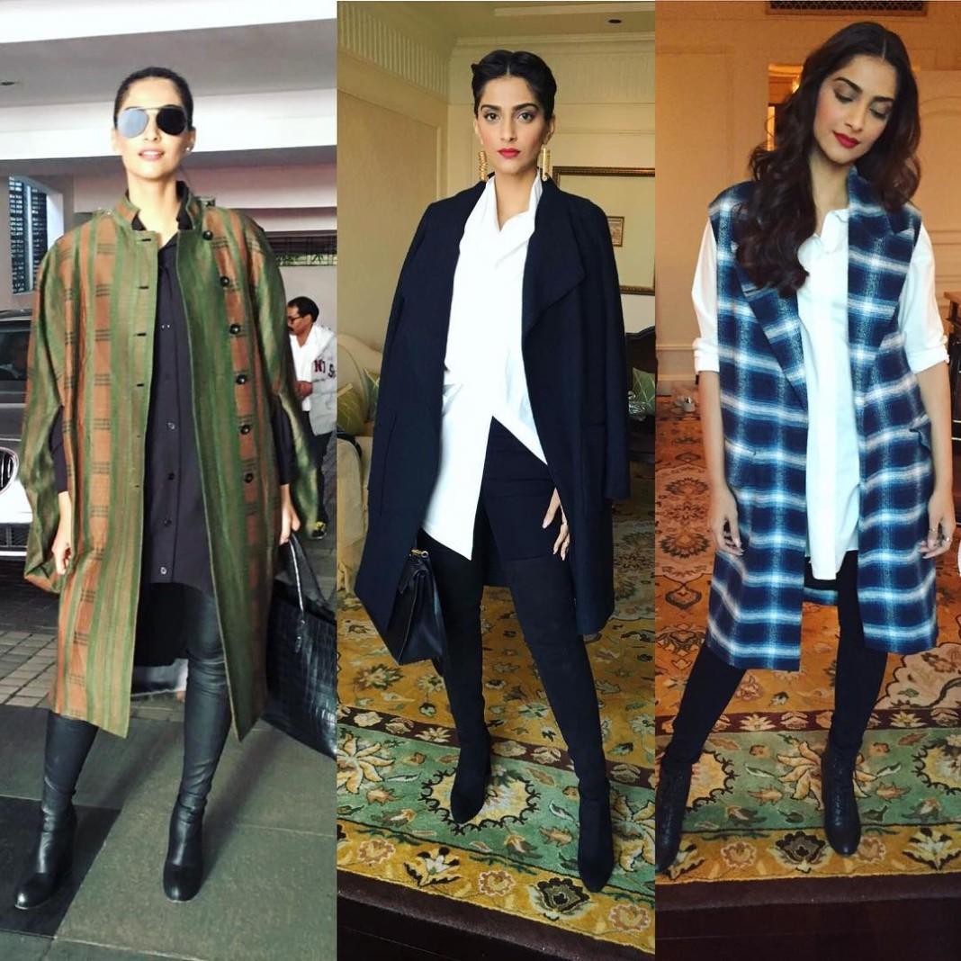 Sonam Kapoor Fashion Files during Neerja Promotions- Sonam Kapoor