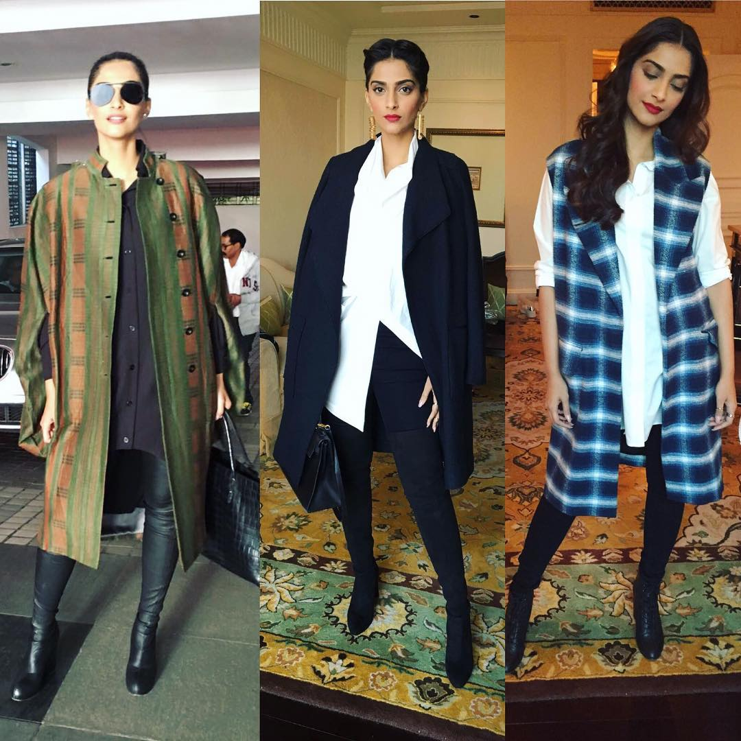 Top Design Trends For 2017 Top Sonam Kapoor Outfits For Neerja Promotions