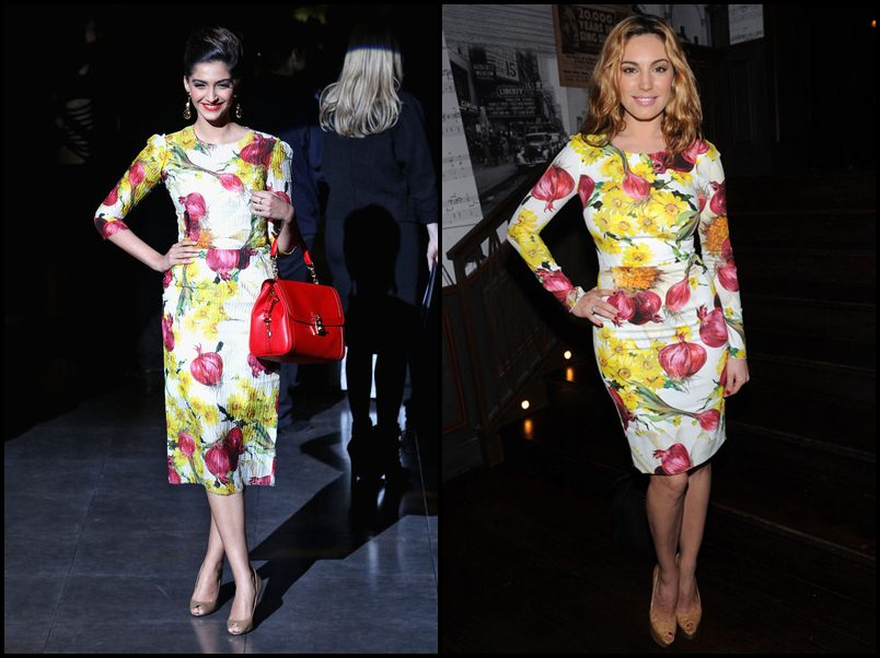 Bollywood Vs Hollywood- Who pulled off these dresses better?- Sonam-Kelly